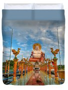 Entrance To Buddha Duvet Cover
