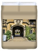 Entrance To Cecilienhof Palace Duvet Cover