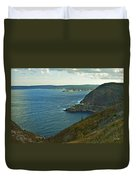 Entrance To St. John's Harbour Duvet Cover