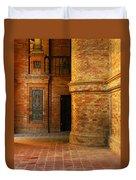 Entry To The Spanish Pavillion In Sevilla Spain Duvet Cover