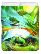 Envious Thoughts Abstract Duvet Cover