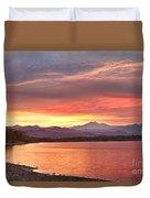 Epic August Sunset 2 Duvet Cover