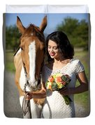 Equine Companion Duvet Cover