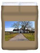 Erdenheim Farm Equestrian Stable Duvet Cover