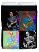 Eric Clapton Pop Duvet Cover