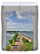 Erie Basin Marina Summer Series 0001 Duvet Cover