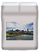 Erie Basin Marina Summer Series 0002 Duvet Cover