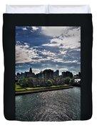 Erie Basin Marina Summer Series 0003 Duvet Cover