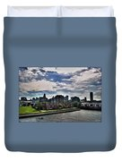 Erie Basin Marina Summer Series 0005 Duvet Cover