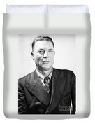 Erle Stanley Gardner Duvet Cover