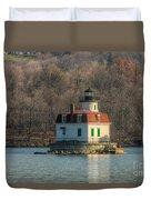 Esopus Meadows Lighthouse I Duvet Cover