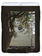 Espiritu Santo Window Duvet Cover