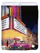 Esquire Theater Duvet Cover