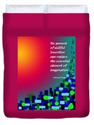 Essential Elements Duvet Cover