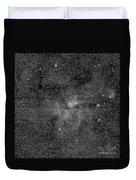 Eta Carinae Nebula, Cassini Image Duvet Cover