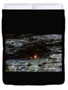 Eternal Flame Reflections Duvet Cover