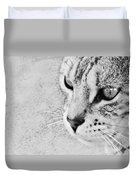 Eternal Stare Down Duvet Cover