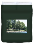 Eternal Waterfront Property Duvet Cover