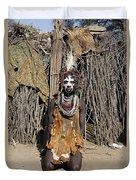 Ethiopia-south Tribesman No.2 Duvet Cover