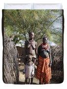Ethiopia-south Tribeswomen No.1 Duvet Cover