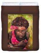Etiopien Girl Duvet Cover