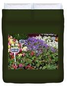European Markets - Fuchsias Duvet Cover