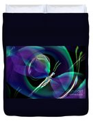 Eve Of The Dragonfly Duvet Cover