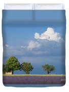 Evening In Provence Duvet Cover