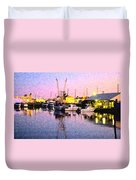Evening Peace Duvet Cover
