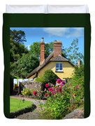 Everyday Life In Somerset Duvet Cover