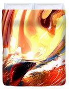Evil Intent Abstract Duvet Cover