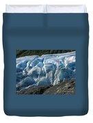 Exit Glacier Viewpoint Duvet Cover