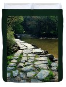 Exmoor National Park Crossing Bridge Duvet Cover