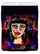Exotic Woman Duvet Cover