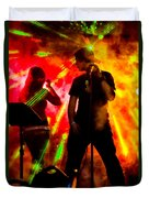 Explosion Duvet Cover