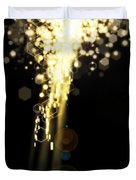 Explosion Of Lights Duvet Cover