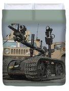 Explosive Ordnance Disposal Robot Used Duvet Cover
