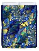 Exquisitely Blue Duvet Cover