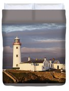 Exterior Of Fanad Lighthouse Fanad Duvet Cover