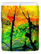 Extreme Ecstasy Duvet Cover by Angela L Walker