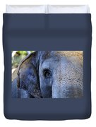 Eye Of The Elephant Duvet Cover