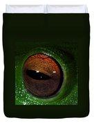 Eye Of The Frog Duvet Cover