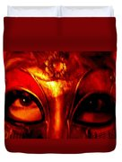 Eyes Behind The Mask Duvet Cover