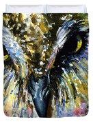 Eyes Of Owl's 13 Duvet Cover