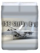 F-15e Strike Eagle Duvet Cover