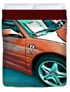 F355 Spider Duvet Cover