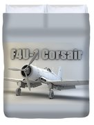 F4u-1 Corsair Duvet Cover