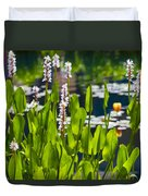 Fabulous Water Hyacinth  Duvet Cover