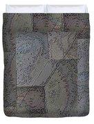 Facade 3 Duvet Cover