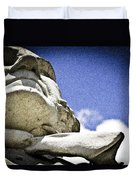 Face Of Courage Duvet Cover